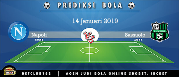 Prediksi Napoli Vs Sassuolo 14 Januari 2019