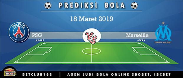 Prediksi PSG Vs Olympique Marseille 18 Maret 2019