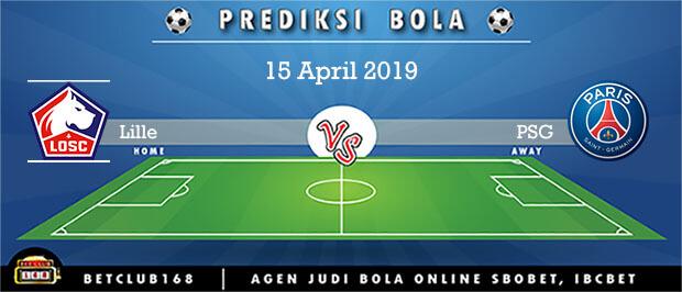 Prediksi Lille Vs PSG 15 April 2019