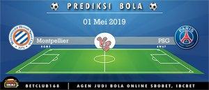 Prediksi Montpellier Vs PSG 1 Mei 2019