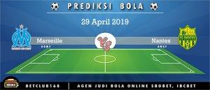 Prediksi Olympique Marseille Vs Nantes 29 April 2019