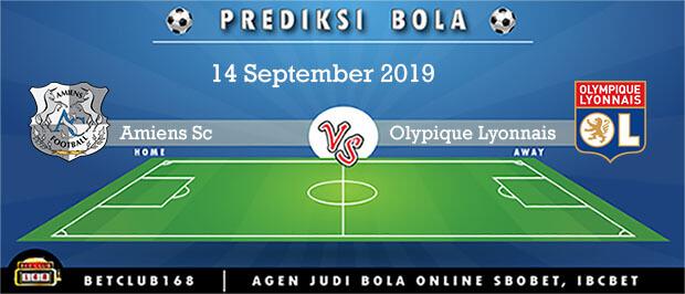 Prediksi Amiens SC Vs Olympique Lyonnais 14 September 2019