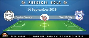 Prediksi Derby County Vs Cardiff City 14 September 2019