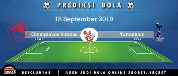 Prediksi Olympiakos Piraeus Vs Tottenham Hotspur 18 September 2019