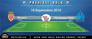 Prediksi Monaco Vs Olympique Mars 16 September 2019