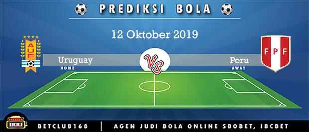 Prediksi Uruguay Vs Peru 12 Oktober 2019