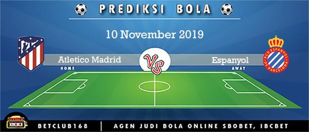 Prediksi Atletico Madrid Vs Espanyol 10 November 2019