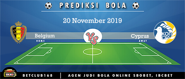 Prediksi Belgium Vs Cyprus 20 November 2019