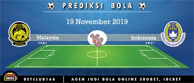 Prediksi Malaysia Vs Indonesia 19 November 2019