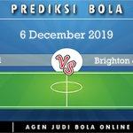 Prediksi Arsenal Vs Brighton & Hove 6 December 2019