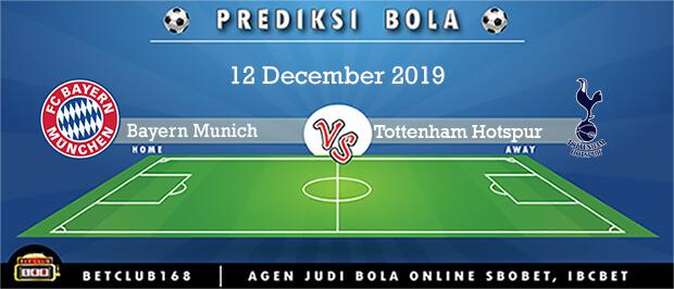 Prediksi Bayern Munich Vs Tottenham Hotspur 12 December 2019