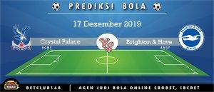 Prediksi Crystal Palace Vs Brighton & Hove Albion 17 Desember 2019