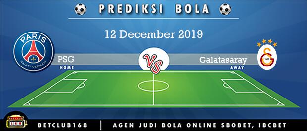 Prediksi PSG Vs Galatasaray 12 December 2019