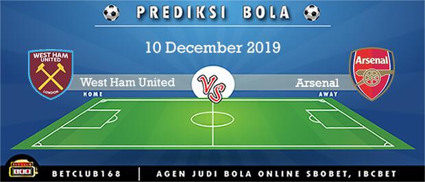 Prediksi West Ham United Vs Arsenal 10 December 2019