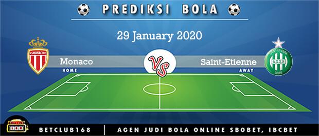 Prediksi Monaco Vs Saint-Etienne 29 January 2020