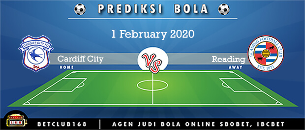Prediksi Cardiff City Vs Reading 1 February 2020