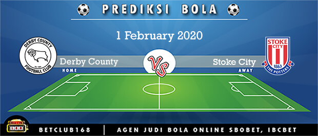 Prediksi Derby County Vs Stoke City 1 February 2020
