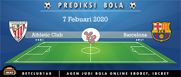 Prediksi Athletic Club Vs Barcelona 7 Febuari 2020