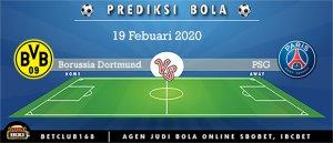 Prediksi Borussia Dortmund Vs PSG 19 Febuari 2020