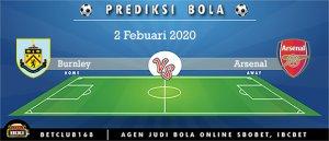 Prediksi Burnley Vs Arsenal 2 Febuari 2020