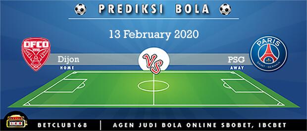 Prediksi Dijon Vs PSG 13 February 2020