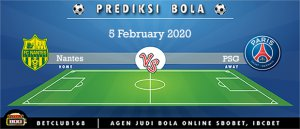 Prediksi Nantes Vs PSG 5 February 2020