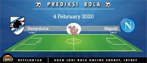 Prediksi Sampdoria Vs Napoli 4 February 2020