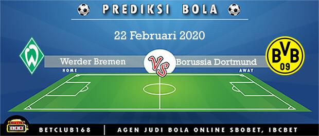 Prediksi Werder Bremen Vs Borussia Dortmund 22 Februari 2020