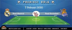 Prediksi Real Madrid Vs Real Sociedad 7 Febuari 2020
