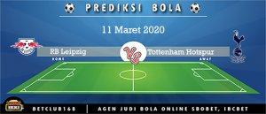 Prediksi RB Leipzig Vs Tottenham Hotspur 11 Maret 2020