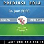 Prediksi Werder Bremen Vs Bayer Leverkusen 24 Juni 2020